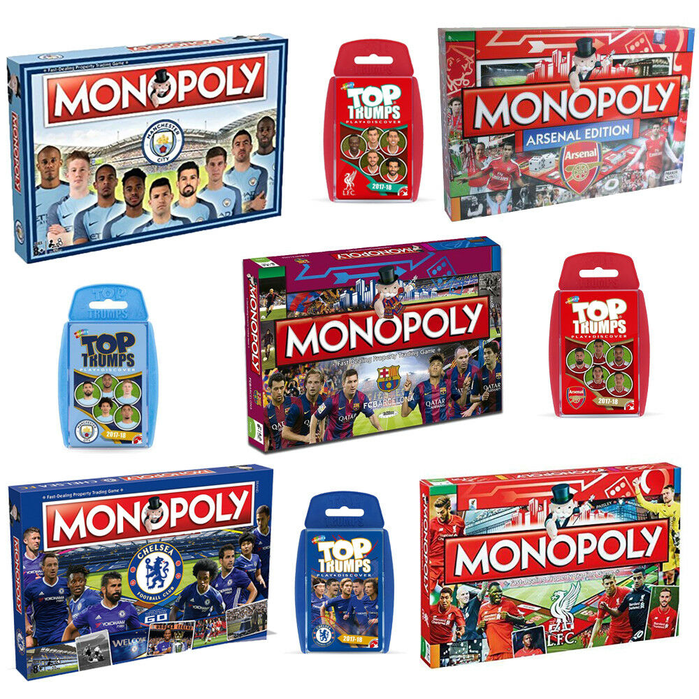 Monopoly Board Football Game Edition Gift - 2018 Full Range by Winning Moves