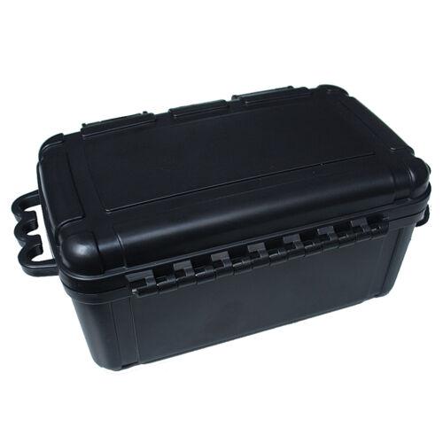 MFH Kunststoff Kiste Aufbewahrung Camping Outdoor Survival Box wasserdicht schw