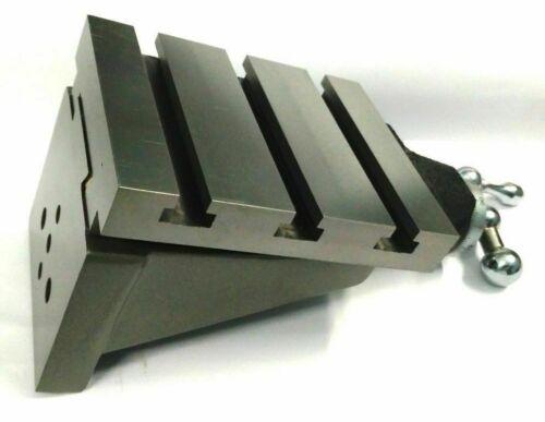 Zollfrei Drehbank Fixed Vertical Slide 125x100mm Frässchlitten Vertical Slide