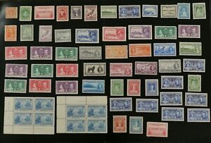 Newfoundland-collection-of-F-VF-mint-hinged-stamps-k011