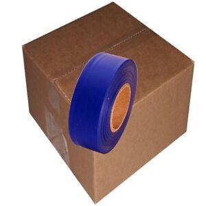 PréCis Blue 12 Rolls Flagging Marking Tape 1 3/16 In X 300 Ft Non-adhesive PréParer L'Ensemble Du SystèMe Et Le Renforcer