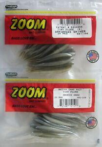 """Zoom 023106 Super Fluke Arkansas Shiner 5 1//4/"""" 10Pk"""