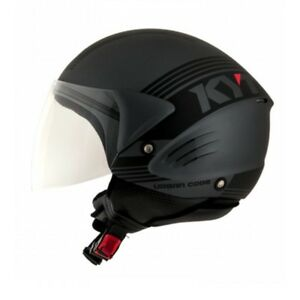 helm helmet jet motorroller kyt puma urban code anthrazit. Black Bedroom Furniture Sets. Home Design Ideas