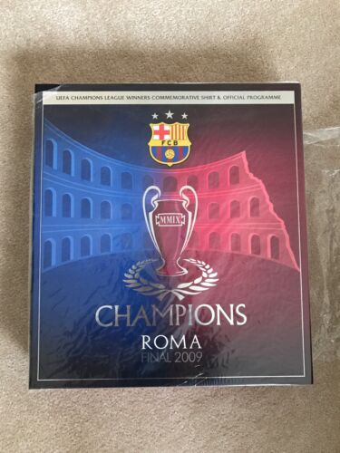 Barcelona FC Commemorative Shirt And Official Programme