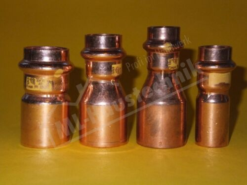 Viega Profi-Press Gas Reduzierstück Redu 12-15-18-22-28-35-42-54 Kupfer-Rohr SC