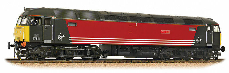 Bachmann Class 47 4 47814  Virgin TOTNES CASTLE  32-819