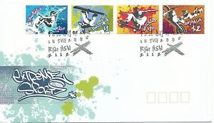 2006 Extreme Sports set 4 FD1 18 July Ryde NSW  Special Postmark