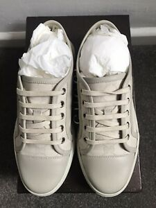 Gucci GG Cotton Canvas Washed White