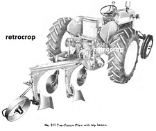 Ih International Harvester 211 311 2 Point Fast Hitch Plow Owners Manual 560