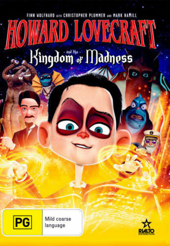 Howard Lovecraft And The Kingdom Of Madness : NEW DVD : Australian Stock