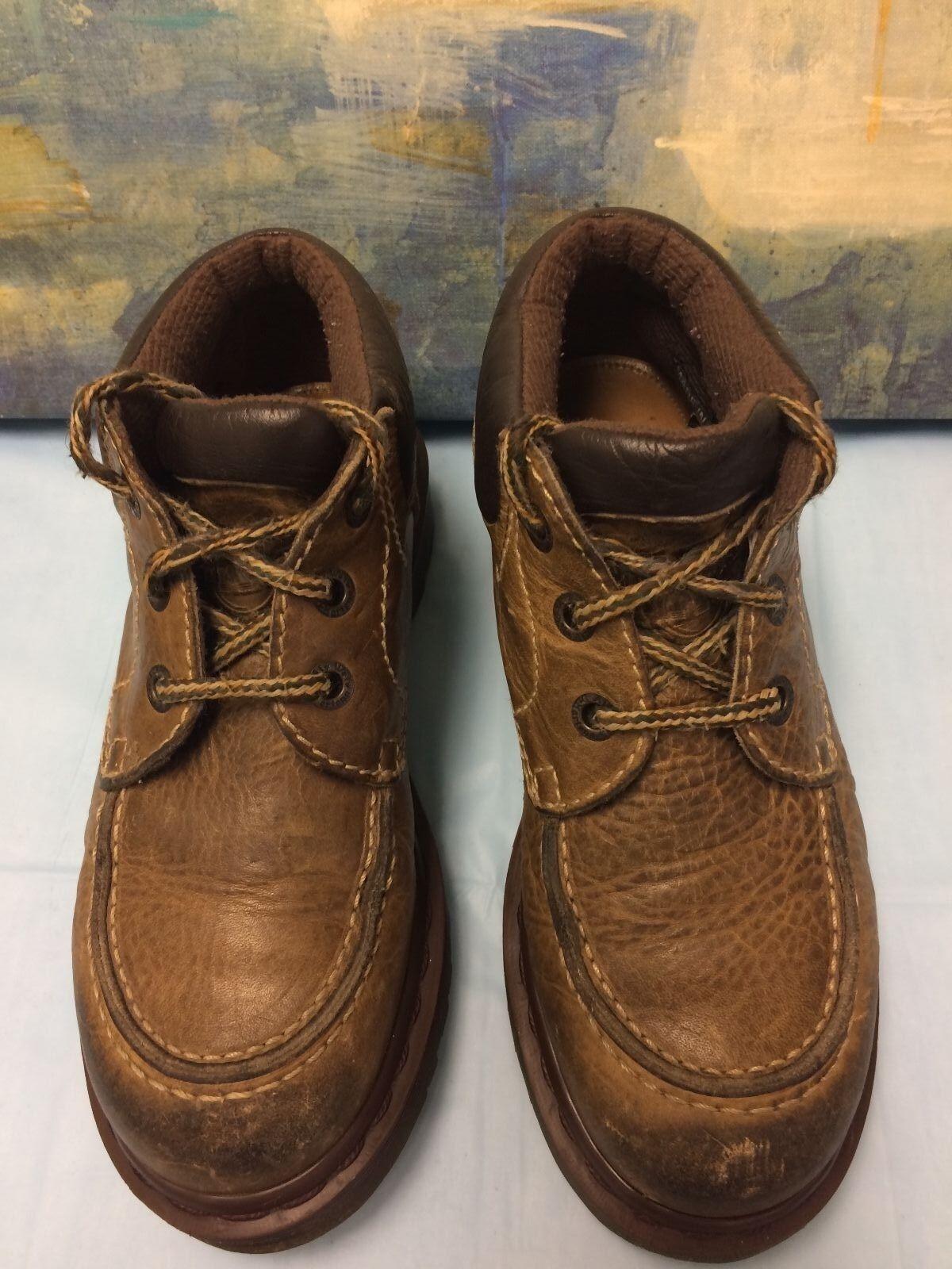Vintage Dr Doc Martens Mens Boots 8458 USM5,USL6,Womens US Made In England