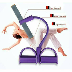 Four Elastic Band Fitness Resistance Band Rope Exercise Equipment for Yoga