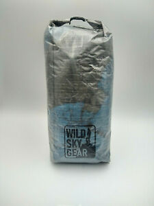 Wild Sky Gear DCF Cuben fiber tall dyneema Dry Bag Ultralight 19g fits tents