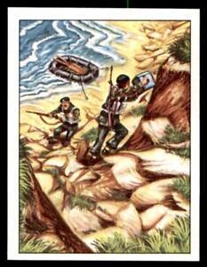 127 Panini Action Man Sticker 1983 No