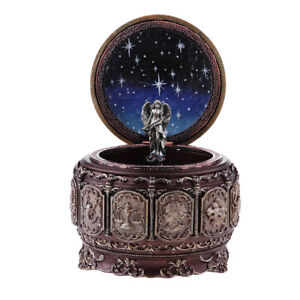 Vintage Constellation LED Music Box Play ''Castle in the Sky'' - Sagittarius
