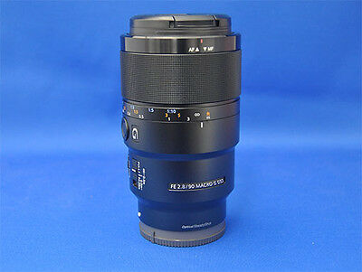 Sony SEL90M28G FE 90 mm F2.8 Macro G OSS Camera Lens Japan Domestic Version New