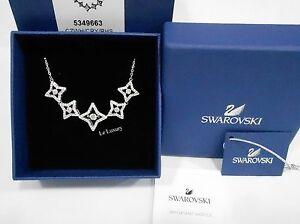 f5e1610e11393 Details about Swarovski Sparkling Dance Star Necklace, Medium White Crystal  Authentic 5349663