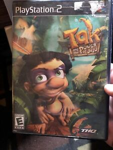 Tak-and-the-Power-of-Juju-Sony-PlayStation-2-2003-DISC-CASE-No-MANUAL
