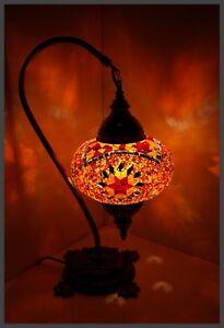 Mosaiklampe L orientalische Lampe Stehlampe Tischlampe Samarkand-Lights Orange