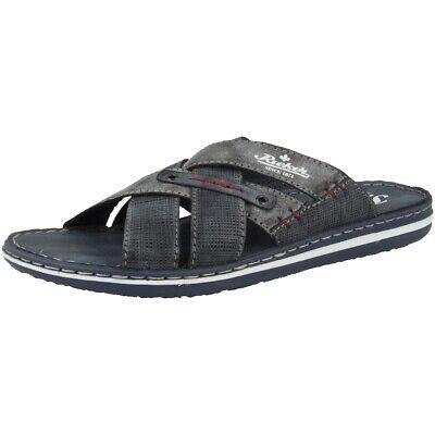 Rieker 21064-01 Sandalen Herren Pantoletten Antistress Schuhe Freizeit Slipper