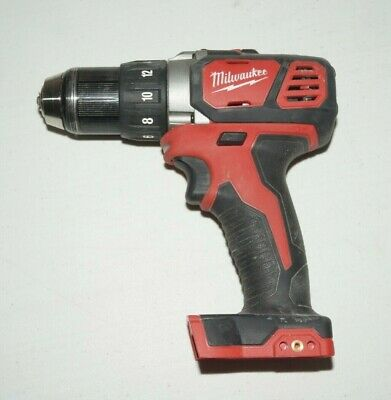 "Acquista A Buon Mercato Milwaukee 2606-20 M18 18v Compact 1/2"" Drill/driver Used U439"