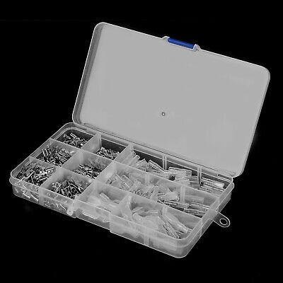 120tlg 2,8mm//4,8mm//6,3mm Quetschverbinder Flachsteckhülsen Kabelschuhe In Kasten