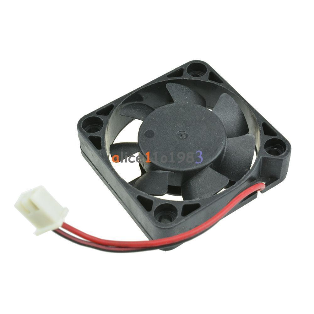 Cooler Fan 12V 2pin 40x40x10mm For Arduino Raspberry Pi Computer 3D printer NEW