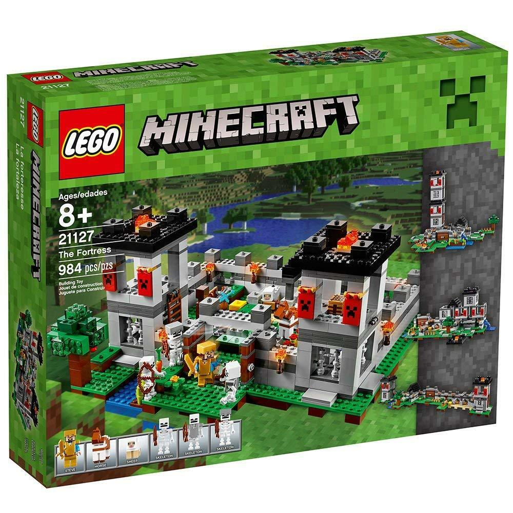 LEGO Minecraft The Fortress 21127 - retired