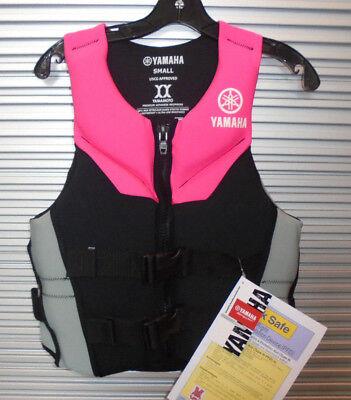 YAMAHA Women/'s Neoprene Life Vest XL PINK MAW-15VNE-PK-XL FREE SHIPPING