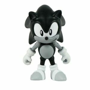 Action Figure Toy Sonic The Hedgehog Classic Sonic Black And White 655036956694 Ebay