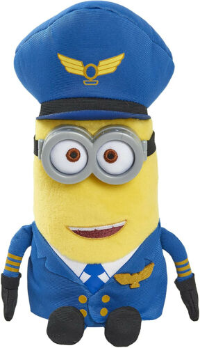 The Rise of Gru Small Plush Pilot Kevin 9-Inch Brand New Kid Toy Gift Minions
