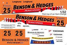#25 BMW Racing Longhurst 1/32nd Scale Slot Car Waterslide Decals