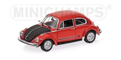 Volkswagen 1303 World Cup 1974 rosso 1:43 Model MINICHAMPS