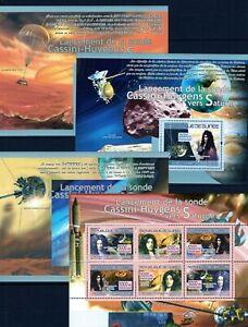 GUINEE-2007-LANCEMENT-DE-LA-SONDE-CASSINI-CUYGENS-VERS-SATURNE-JUPITER-STAMP-MNH