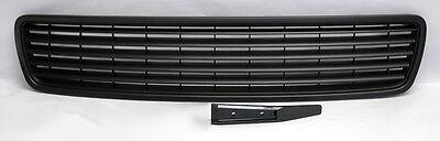 Audi A4 B5 96-01 Badgeless Style Matte Black Front Hood Bumper Grill