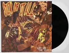 SICK OF IT ALL BAND SIGNED LIFE ON THE ROPES VINYL RECORD ALBUM W/ COA