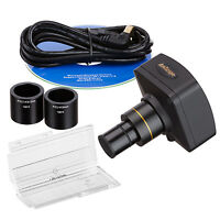 14mp Usb2.0 Microscope Usb Digital Camera + Advanced Software And Micrometer on Sale