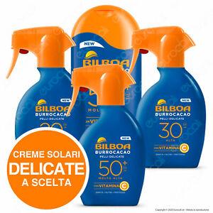 Bilboa Protezione Solare Burrocacao Latte Spray Pelle Delicata SPF 50+ 30 20
