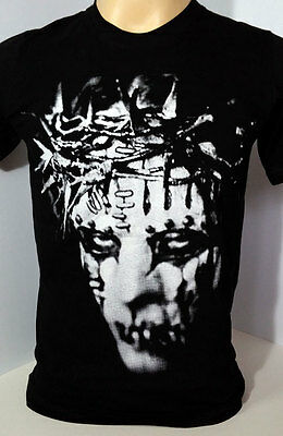 Slipknot American heavy metal band handmade black t shirt size XL