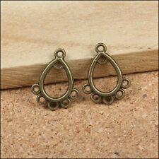 Lot 5 Connecteur Perle Bronze 6 Trous 16mm x 12mm Creation bijoux, Porte Cle
