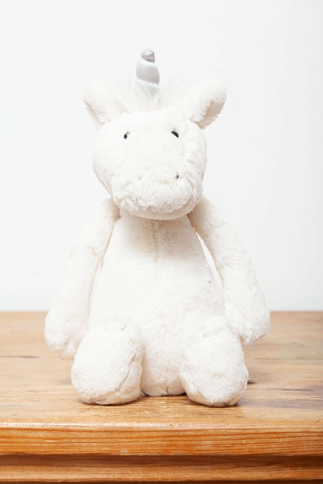Jellycat Bashful Medium Unicorn - All White cream