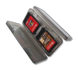 4-x-Nintendo-Switch-Transparent-Black-Game-Card-Case-Holder-UK-Seller