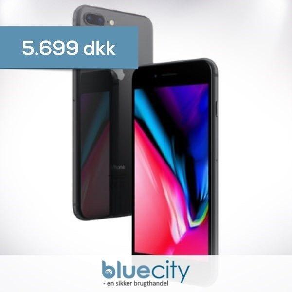 iPhone 8 Plus, GB 8, sort