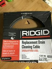 25ft Ridgid 62225 Replacement Drain Cleaning Cable 516 In X 25 Ft 8mm X 76m