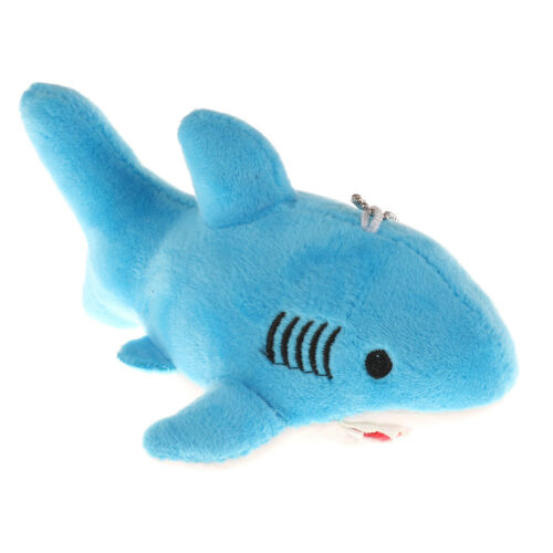 18cm Cute Shark Plush Toys Kawaii Pendant Keychain Stuffed Animals Kids GIFT HP