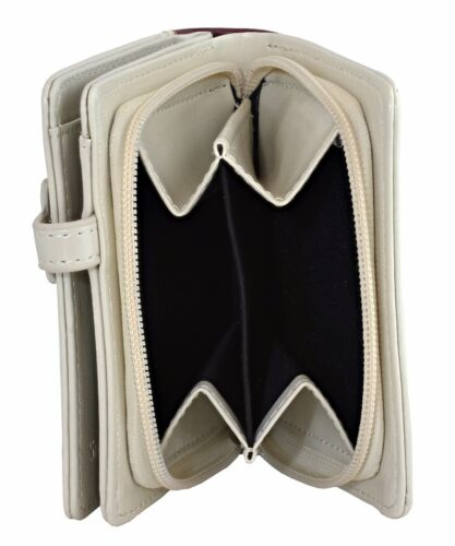 Choose Color Shagwear Book of Birds Small Zipper Bifold Wallet
