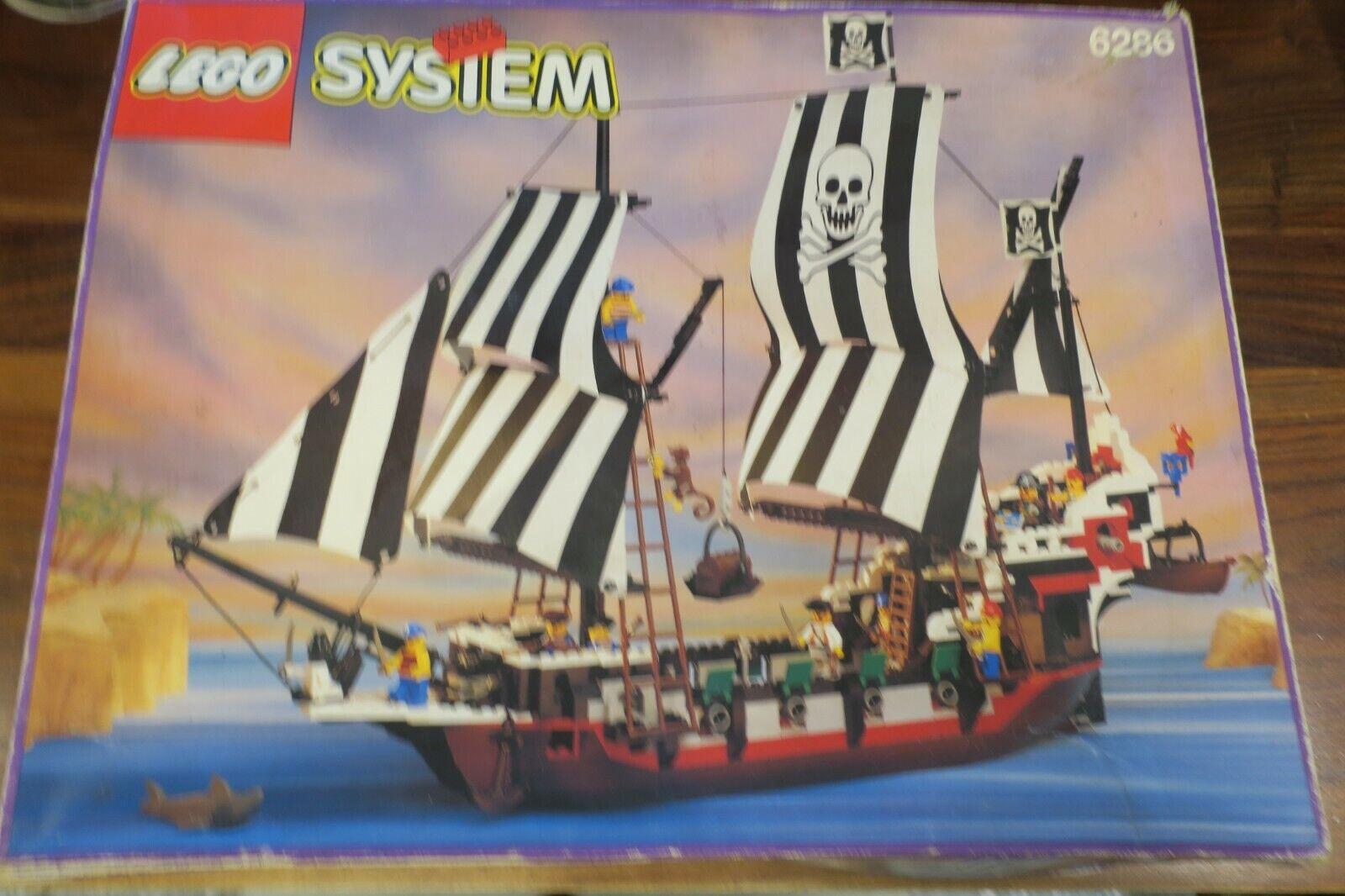 LEGO SYSTEM 6286 - BATEAU PIRATE