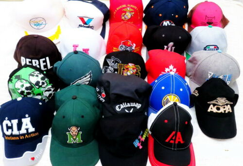 Lot 25 HATS VINTAGE SNAPBACK TRUCKER HATS CAPS