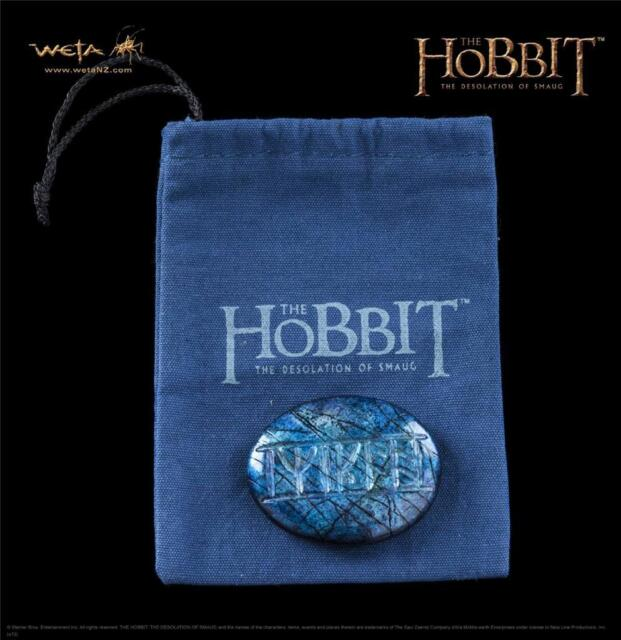 WETA The HOBBIT Desolation of Smaug KILI'S Return To Me RUNE Stone Prop REPLICA