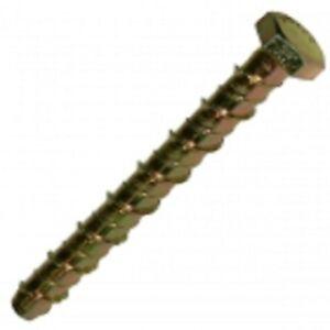 4-x-Coup-de-foudre-tete-hexagonale-a-six-pans-creux-Boulon-beton-M8-130mm